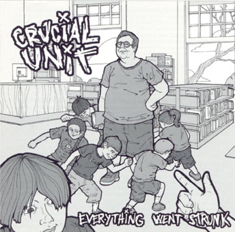 Everything Went Strunk CD
